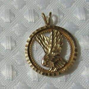 Other - Eagle Pendant - 10 K Solid Gold- Firm Price